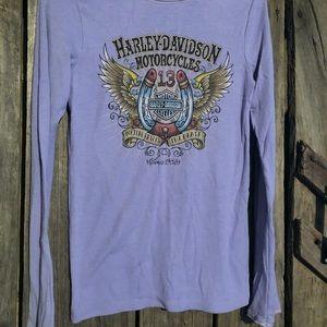 Harley Davidson long sleeved shirt